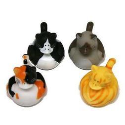 Fun Express Vinyl Cat Rubber Duckies