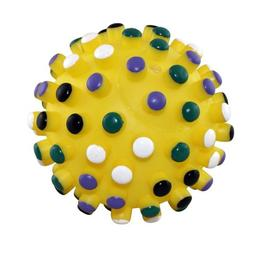 Ethical 5-Inch Vinyl Gumdrop Ball with Colored Tips,Colors v