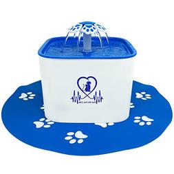 Pet Fit For Life Water Fountain Dispenser Plus Bonus Cat Wan