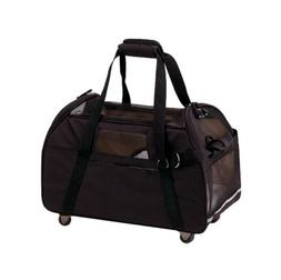 "Wheeled Comfort Carrier Black 19"" x 10"" x 13"""