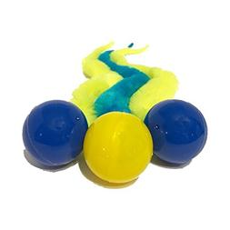 Wiggly Ping Ball by Dezi & Roo - Interactive and Fun Cat Toy