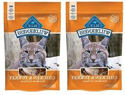 Blue Buffalo Wilderness Grain Free Cat Treats ★ Chicken &