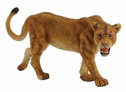 Collecta Wildlife Lioness Toy Figure - Authentic Hand Painte
