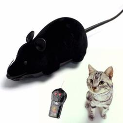 Wireless Remote Control Mouse Pet Cat Toy Mice Kids RC Rat D