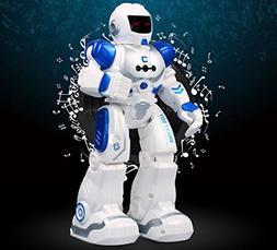 Hi-Tech Wireless Remote Control Robot Kids RC Robot Toy Sens