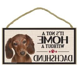 Imagine This Wood Sign for Dachshund Dog Breeds