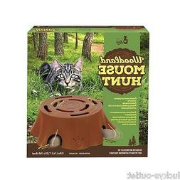 Cat Love Woodland Mouse Hunt Interactive Toy