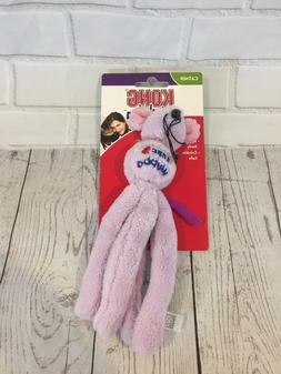Kong Wubba Plush Catnip Purple Mouse Cat Toy New in Package