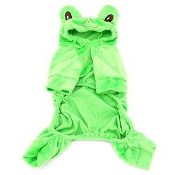smalllee_lucky_store XY000046-S Small Dog Velvet Frog Costum
