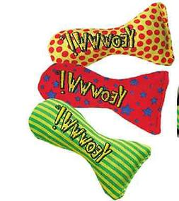 YEOWWW! Organic Catnip Filled STINKIE Cat Toy COLORS VARY