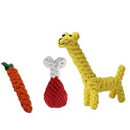 Yitongxing YTX Puppy Chew Toys,Dog Chew Toys Rope Animal Des