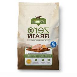 Rachael Ray Nutrish Zero Grain Dog Food - Natural, Chicken &