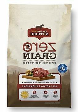 Rachael Ray Nutrish Zero Grain Natural Dry Dog Food, Grain F
