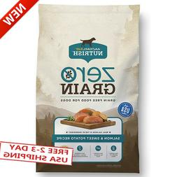 Zero Grain Natural Dry Dog Food, Grain Free, Beef, Potato &
