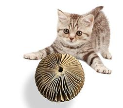 zhl Cat Scratching Pads Cat Toy with Ball Toy Bell, High Den