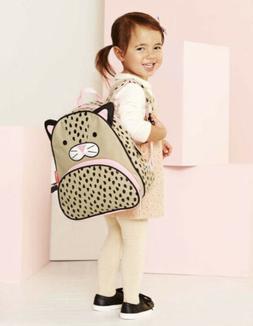 SKIP HOP - Zoo Pack - Leopard Cat Backpack for Little Kids &